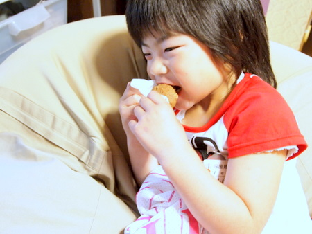 黒糖パンと娘